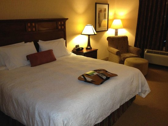 Hampton Inn & Suites Tahoe - Truckee: loved coming home to my very cozy room