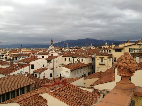 Hotel Tornabuoni Beacci: View from the Tornabuoni Terrace
