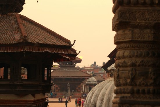  : Sunset over Durbar Square