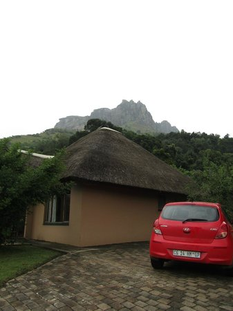 Thendele hutted camp: De cottage