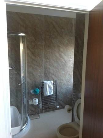 Strathness House: Shower room in Room 6