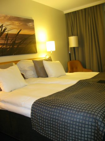 Hotel Birger Jarl: Cama doble