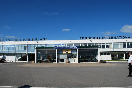 Lydd, UK: The airside of Le Touquet terminal