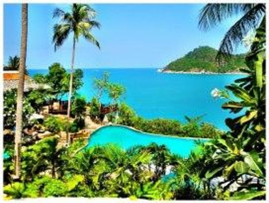 Panviman Resort - Koh Pha Ngan: Ausblick auf Pool