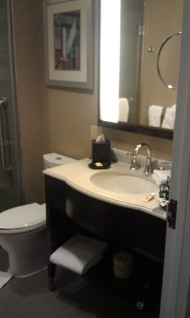 Sheraton Brooklyn New York Hotel: bathroom sink