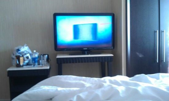 Sheraton Brooklyn New York Hotel: flat screen tv