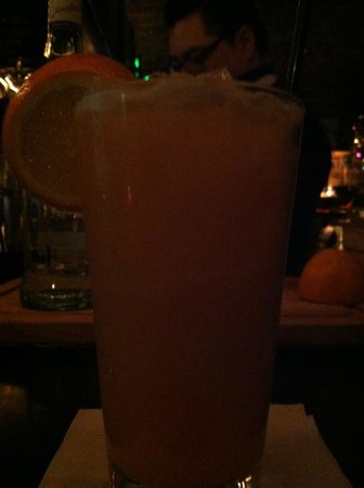 Lexington, Carolina del Norte: Best Orange Drink, made with fresh oranges!
