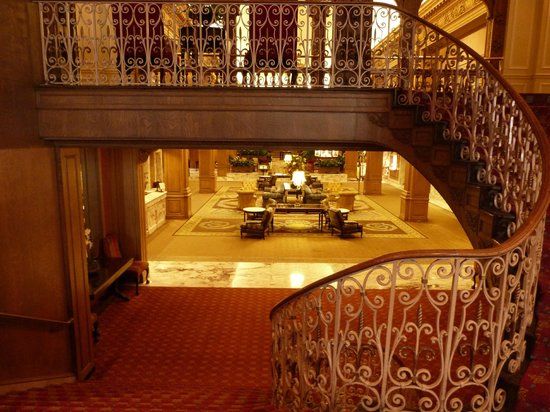 The Fairmont Olympic Seattle: Lobby area