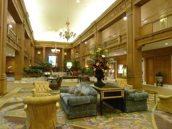 The Fairmont Olympic Seattle : Lobby area 