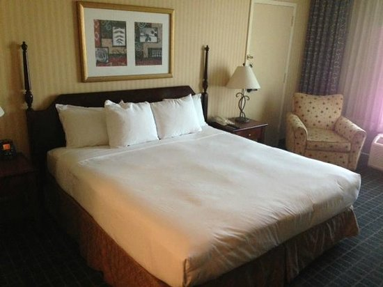 Hilton Pasadena: King-size bed