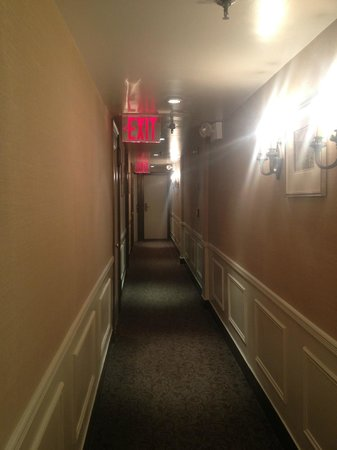 The Franklin: Hallway