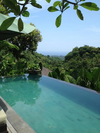 Damai: private pool