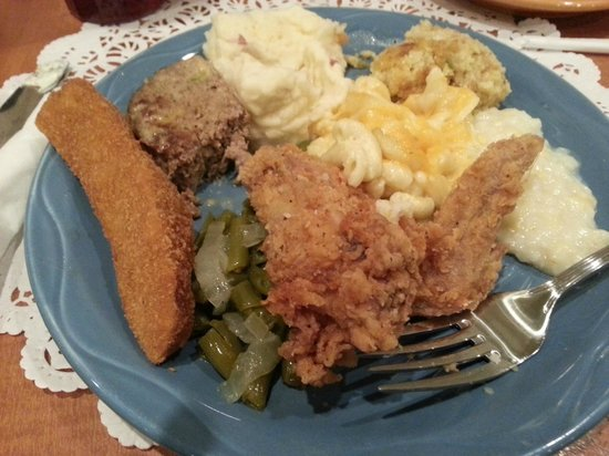 Tunica, MS: Country eating