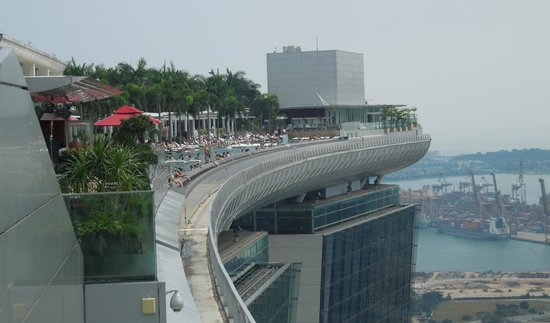 Infinity Pool Picture Of Marina Bay Sands Skypark
