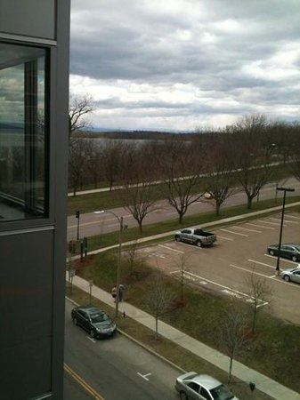 Courtyard by Marriott Burlington Harbor: view of lake from room 622