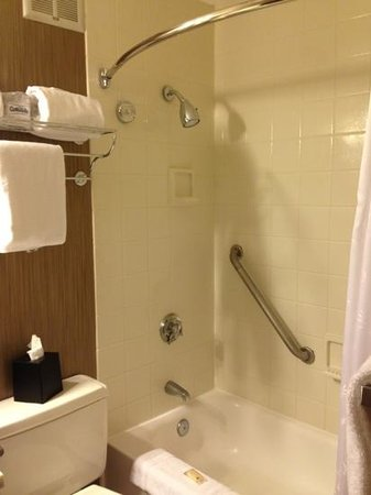 ‪‪Sheraton Philadelphia University City Hotel‬: shower‬