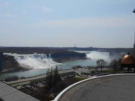 Crowne Plaza Niagara Falls - Fallsview: View from the balcony of 1101