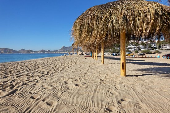 Hotel Quinta Del Sol: Medano Beach is 5 minutes&#39; walk...