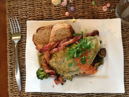The Inn at Irish Hollow: The 3rd course of our gourmet breakfast!