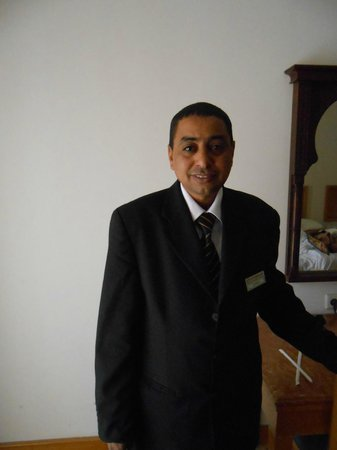 Steigenberger Nile Palace Luxor: room service manager