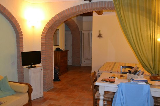 Borgo al Cerro: Our apartment