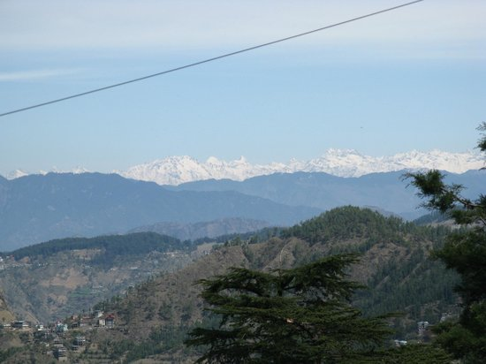 The Oberoi Cecil, Shimla : The view from room 505 