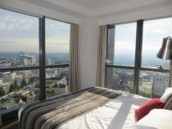 70th floor view after moving the couch picture of. Black Bedroom Furniture Sets. Home Design Ideas