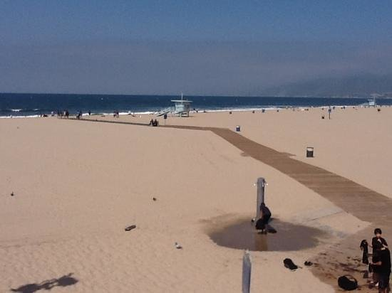 Loews Santa Monica Beach Hotel: beautiful beach