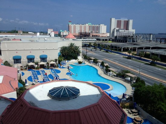 Grand Biloxi Casino Hotel & Spa: Window View