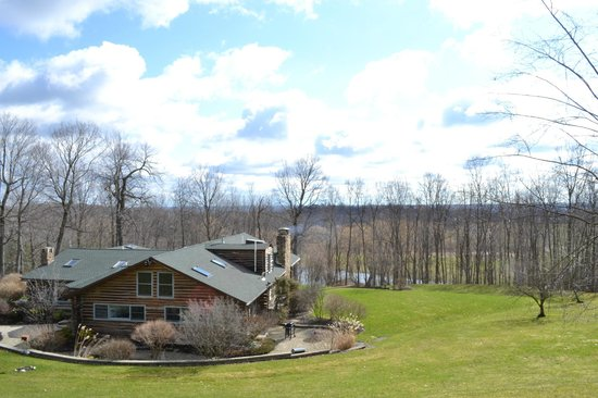 The Chalet of Canandaigua: A view from the top of the hill