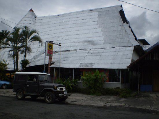 Hotel San Bosco: cool tin roof