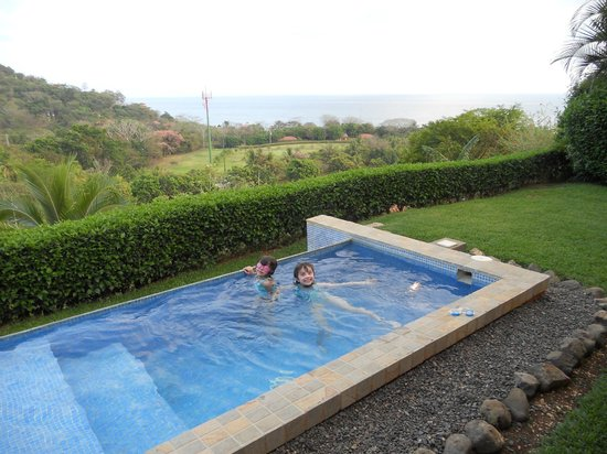 Hotel Punta Islita: Our private pool!  The kids spent hours in here.
