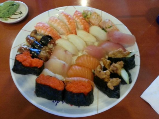 Norristown, Pennsylvanie : gorgeous plate of sushi