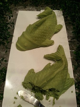 Norristown, Pennsylvanie : Fish shaped wasabi lumps