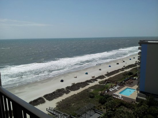 Ocean Park Resort, Oceana Resorts: From our room on the 12th floor