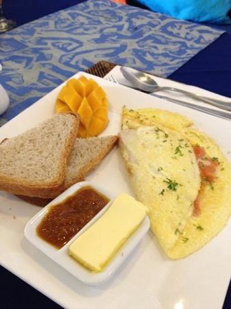 Boracay Beach Resort: free breakfast