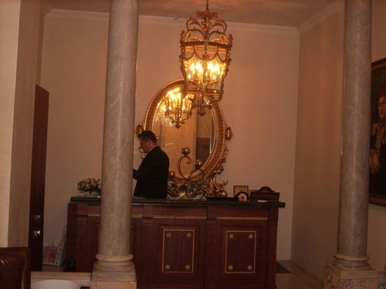Palazzo Donizetti Hotel : The reception