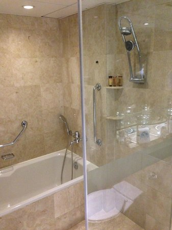 Sheraton Hong Kong Hotel &amp; Towers: Shower