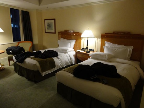 Nagoya Marriott Associa: Standard room with twin beds