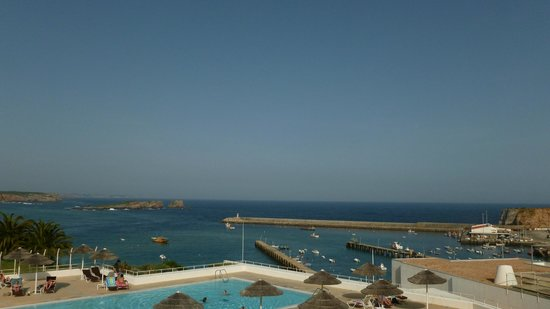 Memmo Baleeira Hotel: view from the room