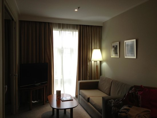 Crowne Plaza Newcastle: Lounge