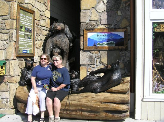 Westgate Smoky Mountain Resort: In Gatlinburg shopping!