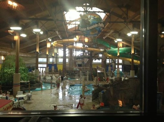 Timber Ridge Lodge & Waterpark: The whole water park from Smokey's