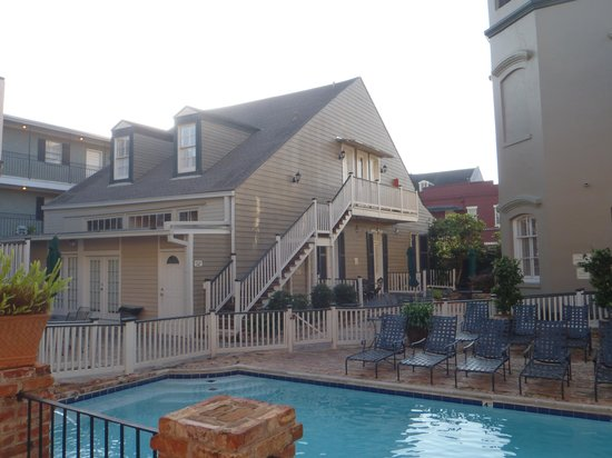 New Orleans Courtyard Hotel: The cottage