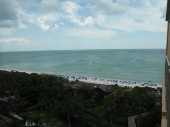 The Ritz-Carlton, Naples: View from room 936