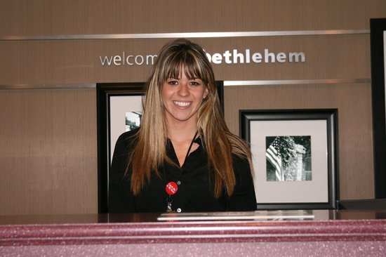 Hampton Inn and Suites Bethlehem: Welcome