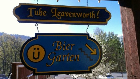 Adventure Inn : Bier Garten 