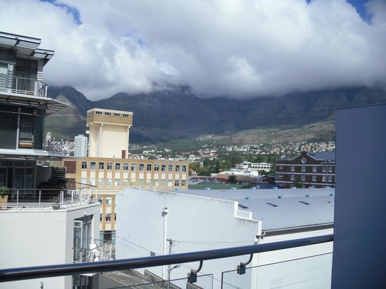 Protea Hotel Fire & Ice! Cape Town : view from room