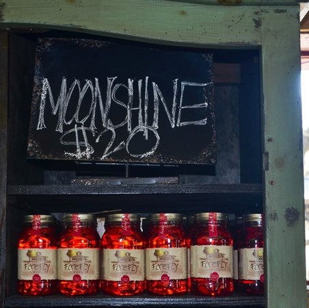 Wadmalaw Island, SC: Moonshine