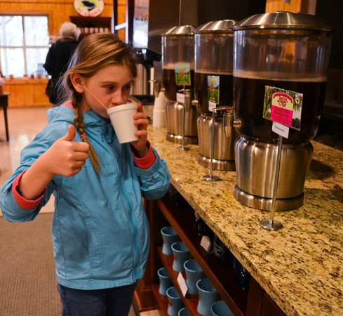 Wadmalaw Island, SC: Tea gets a thumbs up